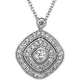 Beautiful Simon G. Diamond Pendant