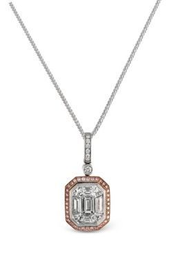 Gorgeous Simon G. Mosaic Diamond Pendant