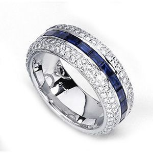Simon G. Sapphire and Diamond Band