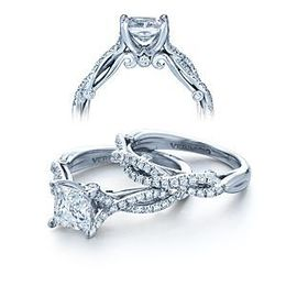 Elegant Verragio Diamond Engagement Ring