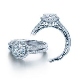 Alluring Verragio Venetian Collection Round Center Ring