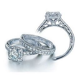 Dazzling Verragio Venetian Collection Diamond Ring