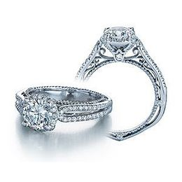 Verragio Venetian Collection Round Diamond Ring