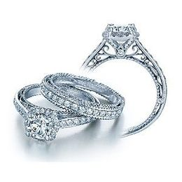 Stunning Verragio Venetian Collection Engagement Ring