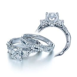Exquisite Verragio Venetian Collection Engagement Ring