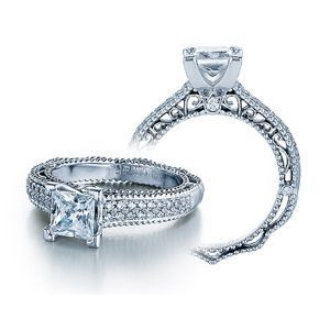 Verragio Venetian Collection Princess Cut Diamond Ring