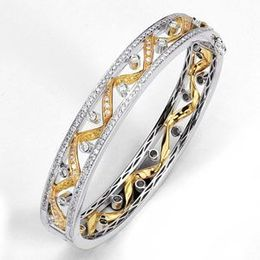 Incredible Simon G Diamond Bangle Bracelet