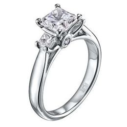 Scott Kay Crown Setting Princess Diamond Ring