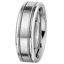 SK Cobalt Prime Collection 7mm Mens Wedding Band