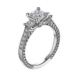 Scott Kay Crown Setting Designer Engagement Ring