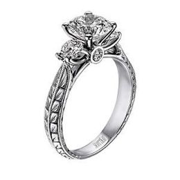 Scott Kay Engagement Ring Featuring The Crown Setting