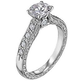 Scott Kay Vintage Collection Designer Engagement Ring