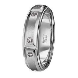 Scott Kay Javlin Collection Diamond Mens Band