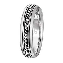 Scott Kay Rope Collection Mens Wedding Band