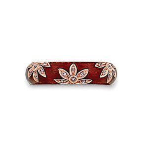 Gorgeous Hidalgo Enamel Flower Ring