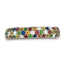 Hidalgo Multi Colored Stone Designer Fashion Ring