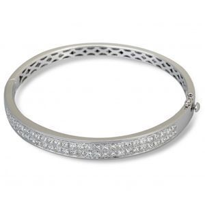 Simon G Diamond Bangle