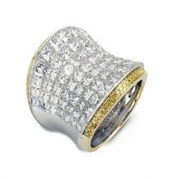 Simon G Two Tone Diamond Fashion Ring