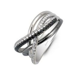 Black and White Diamond Fashion Ring by Simon G
