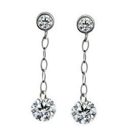 Simon G Diamond Drop Earrings
