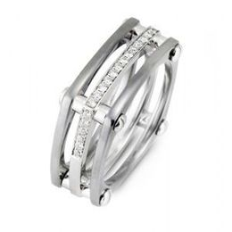 Elegant Simon G Diamond Mens Ring