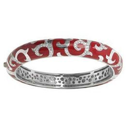 Belle Etoile Royale Stacks Red Bangle
