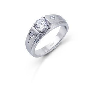 Simon G Mens Diamond Ring
