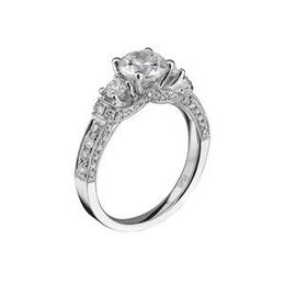 Tiara Collection Scott Kay Diamond Engagement Ring