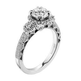 Scott Kay Heavens Gates Diamond Engagement Ring