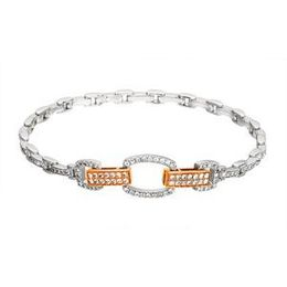Simon G Two Tone Diamond Bracelet