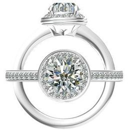 Diamond Engagement Ring by Harout R