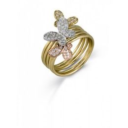 Simon G Tri Tone Fashion Ring