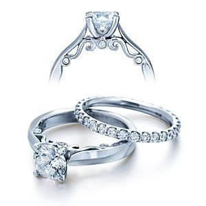 Verragio Engagement Ring INS-7021 with 1ct G SI1