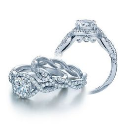 Verragio INS-7040R Engagement Ring with 1ct F SI1