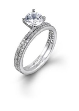 Simon G PR108 Ring with a 3/4ct G SI1 Diamond