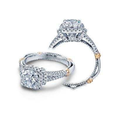 Verragio Parisian-117CU Diamond Engagement Ring
