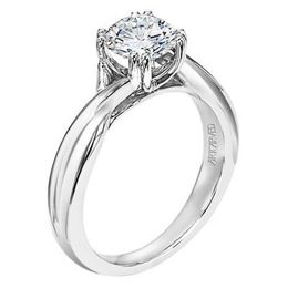 ArtCarved Solitaire Engagement Ring