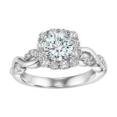 ArtCarved Limited Edition Diamond Engagement Ring