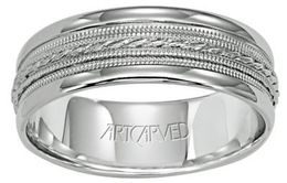 ArtCarved Opulence Wedding Band