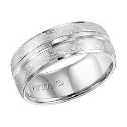 ArtCarved Vernon Mens Wedding Band