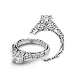 Verragio Parisian-113W Diamond Engagement Ring