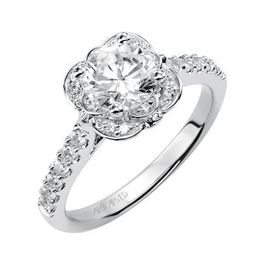 "ArtCarved Engagement Ring ""Skyler"" 31-V342ERW-E"