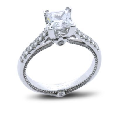 Kranich's Exclusive Princess Cut Verragio Ring