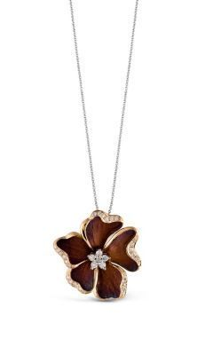 Simon G Diamond Flower Pendant