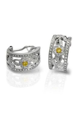 Simon G Diamond Fashion Earrings