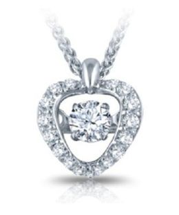Lovely Heartbeat Diamonds Pendant