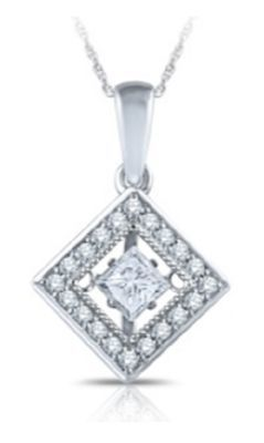 Alluring Heartbeat Diamonds Fashion Pendant