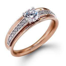 Simon G. 18K Rose Gold Ring