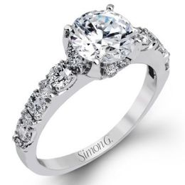 Classic Diamond Engagement Ring By Simon G.