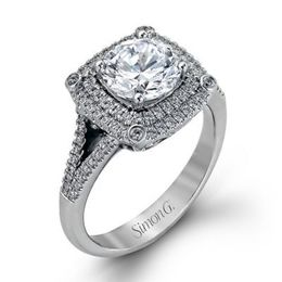 Passionate Simon G. Engagement Ring